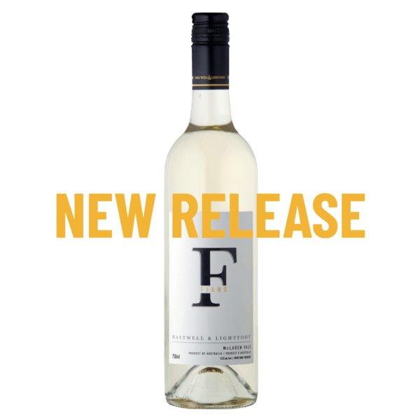 Hastwell and Lightfoot 2020 Fiano new release wine in Australia bottle