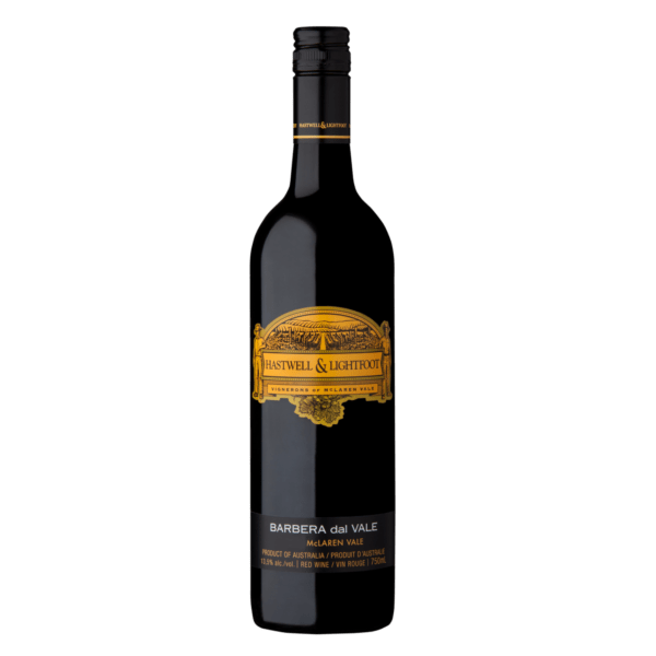 Hastwell and Lightfoot 2016 Barbera Wine Bottle