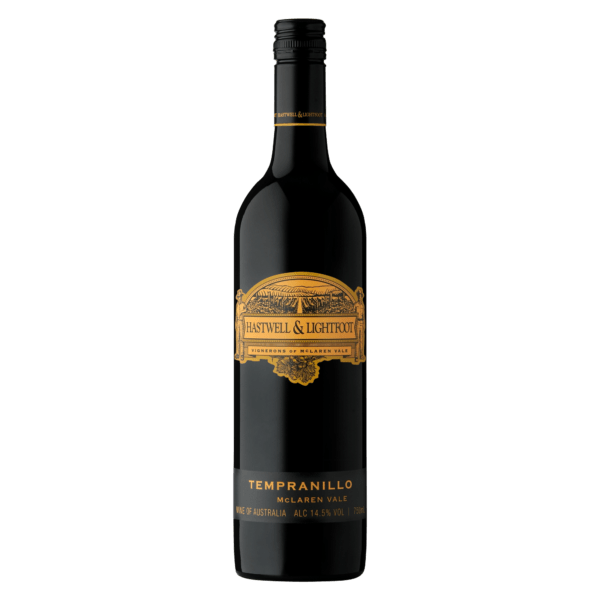 Hastwell and Lightfoot 2016 Tempranillo Wine Bottle