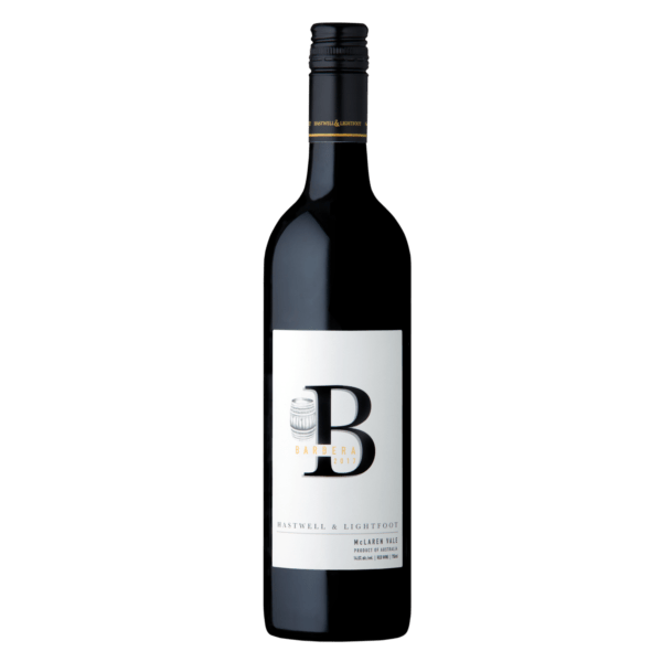 Hastwell and Lightfoot 2017 Barbera Wine Bottle