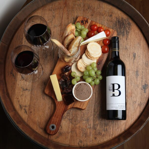 Hastwell and Lightfoot 2017 Barbera Wine with SA's Best Platter