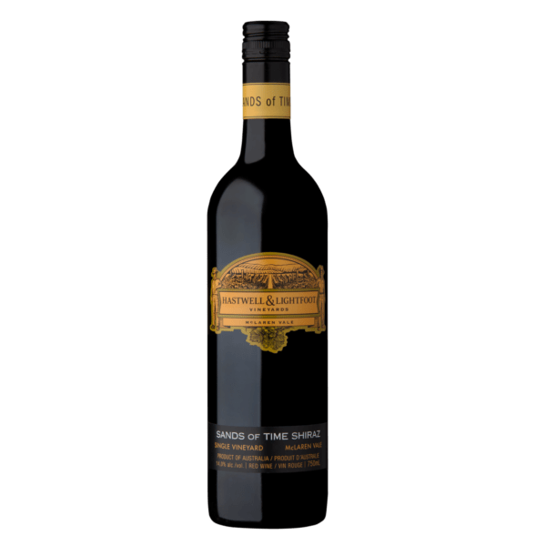 Hastwell and Lightfoot 2015 Sands Of Time McLaren Vale Shiraz Wine