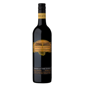 Shiraz Wine Bottle Hastwell and lightfoot 2016 Sands Of Time